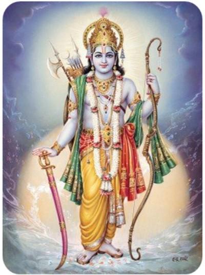 Hindu God pic of vishnu bhagwan