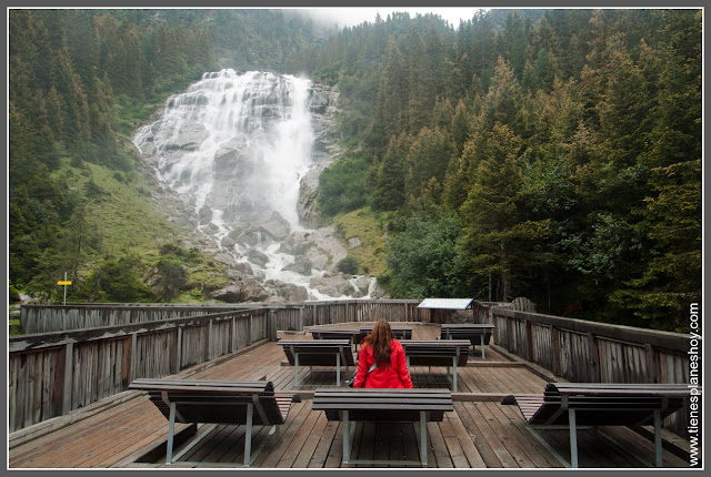 Valle de Stubai - Grawa wasserfall Austria