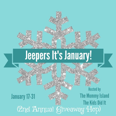 Win $25 Amazon GC In The JEEPERS! It's January #GiveawayHop