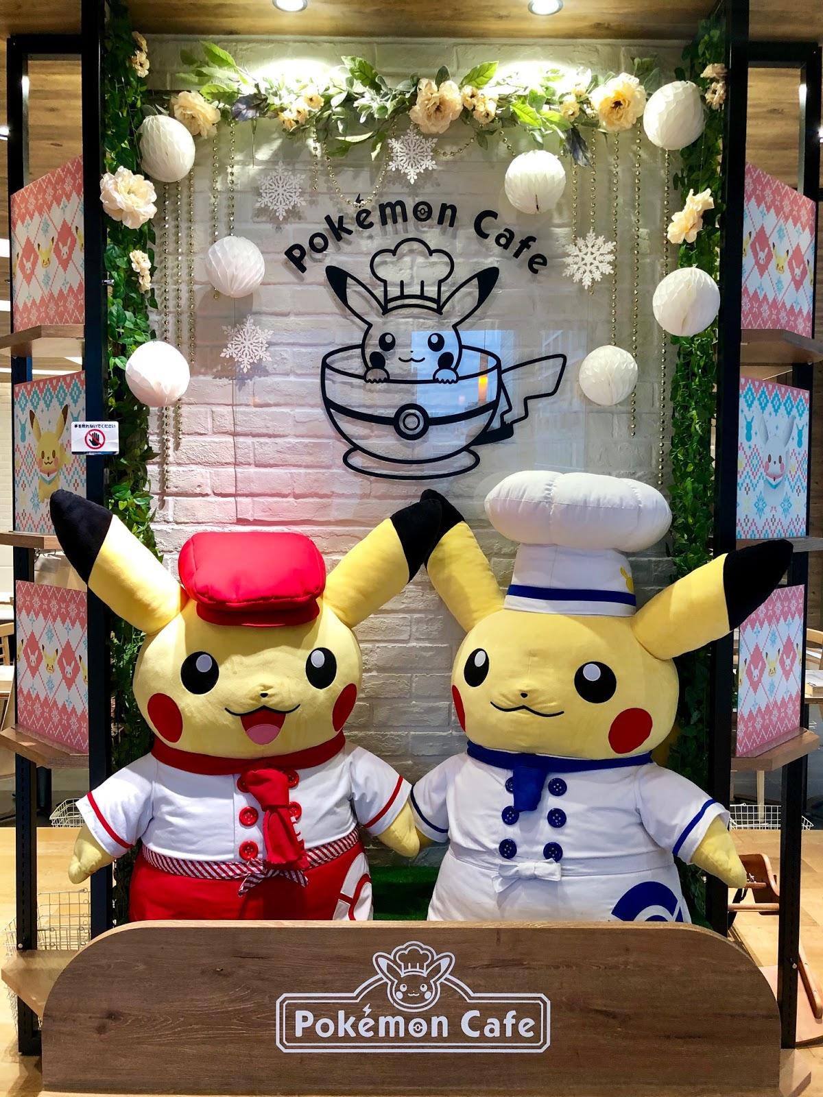 Pokemon Cafe Tokyo Japan