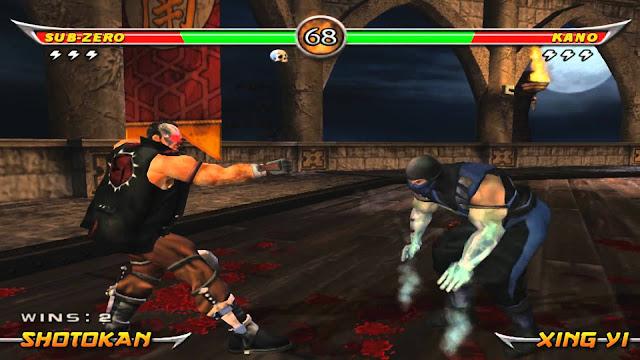 Mortal Kombat Armageddon PS2 GAME ISO Gameplay 1