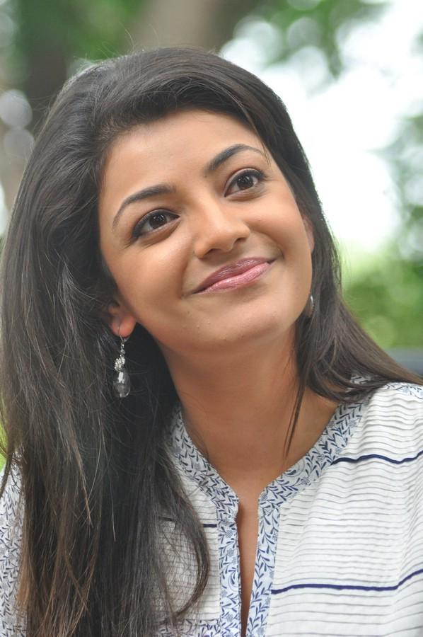 Kajal Agarwal Closeup Cute Lips Stills Gallery