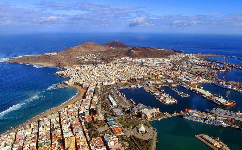 Las Palmas di Gran Canaria Città Atlantica 2017