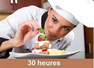 Semaine de formation en pâtisserie
