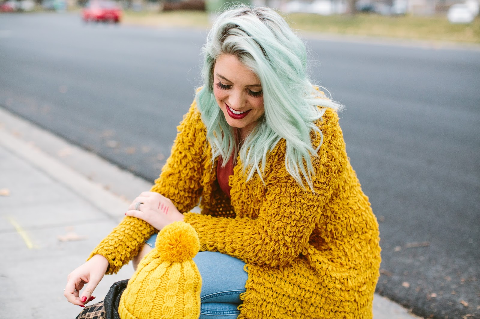 Mint Hair, Blue Hair, Utah Fashion Blogger