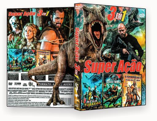 CAPA DVD – Super Ação 3 Em 1 Vol.1 – ISO