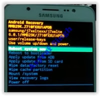 Samsung Galaxy J7 (2016) - Android recovery