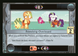 My Little Pony Friendship Overboard Defenders of Equestria CCG Card