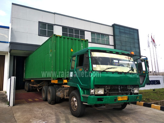 400 Pcs Pallet Plastik Bekas Untuk Customer Kalimantan