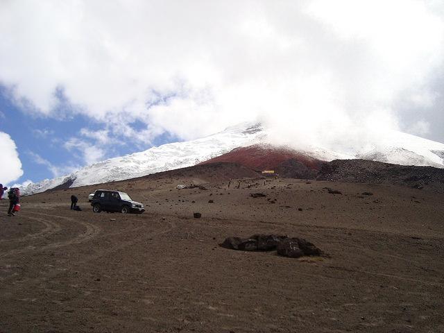 La Avenida de los volcanes en Ecuador
