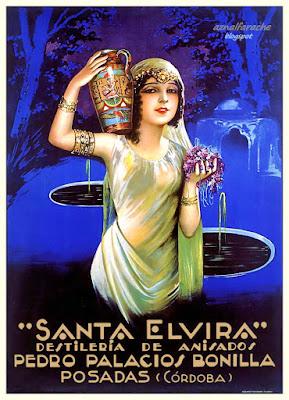 Posadas - Destilería de anisados Santa Elvira - 1930