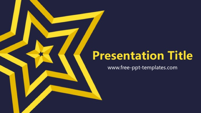 Star Ppt Template Kubreforic