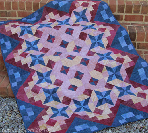 Gratitudes Quilt Free Pattern Designed by Vicki Welsh of Color Ways by Vicki
