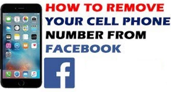 how do i remove my phone number from facebook