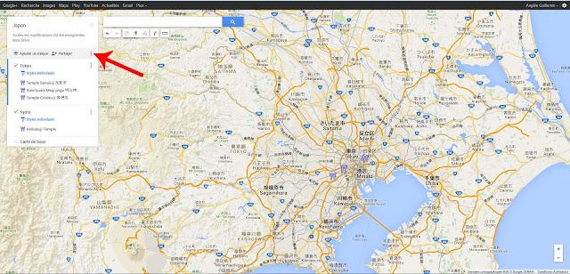 Exporter Google Maps