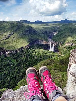 Parque Nacional Chapada dos Veadeiros - Mirante da Janela