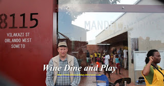 A week after Nelson Mandela died, Wine Dine And Play visited Soweto, South Africa to see his home