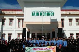 Jurusan dan Daya Tampung SPAN PTKIN Institut Agama Islam Negeri Kerinci Jambi (IAIN Kerinci Jambi)
