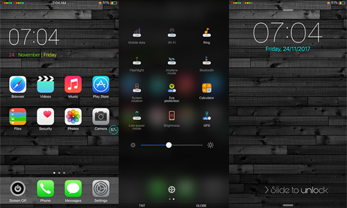 Oppo Theme: Oppo Colored IOS Theme