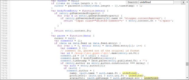 Mencoba Mencari Penyebab Masalah Undefined di Menu Edit HTML