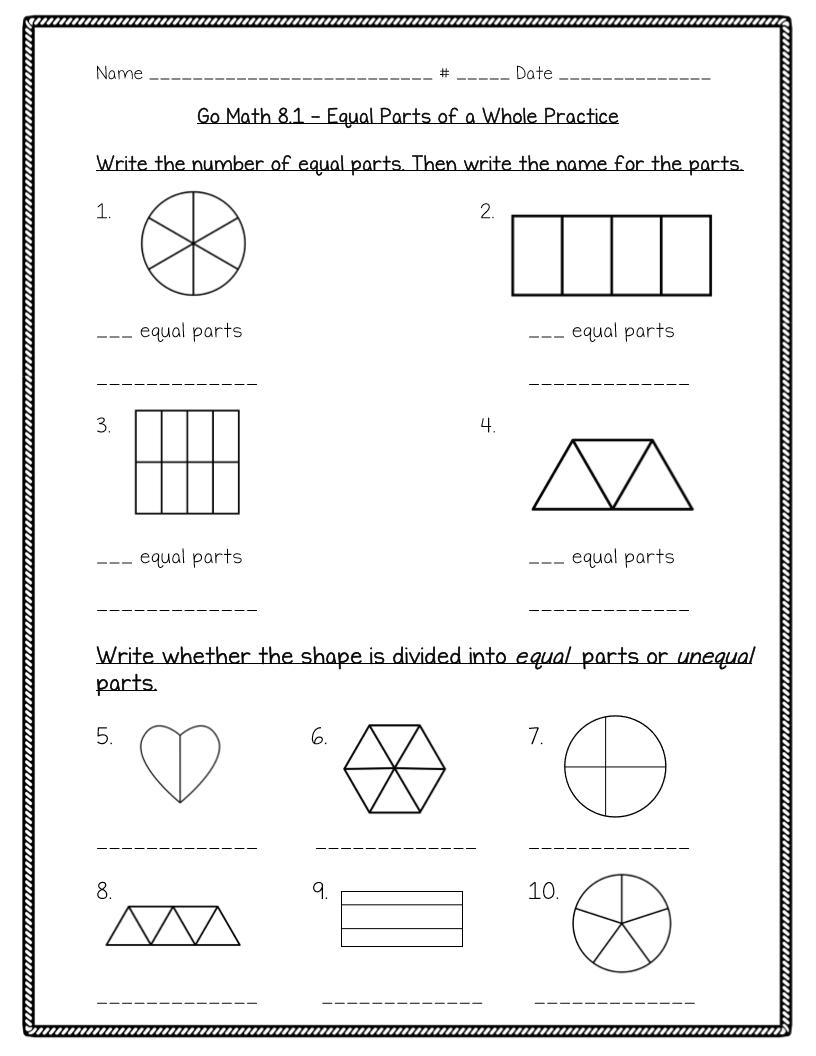 Wellspringthirdgradeblue: Chapter 8 math test review packet