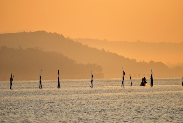 Sunset at Mandovi River Goa