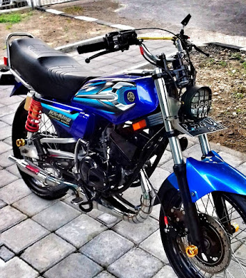 Gambar Motor Rx King Biru Hobi Rx King