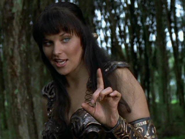 Top 11 Actresses That Should Have Played Wonder Woman : Lucy Lawless as Wonder Woman