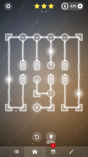 Laser Overload [Intermediate] Level 3-4 Solution, Walkthrough, Cheats
