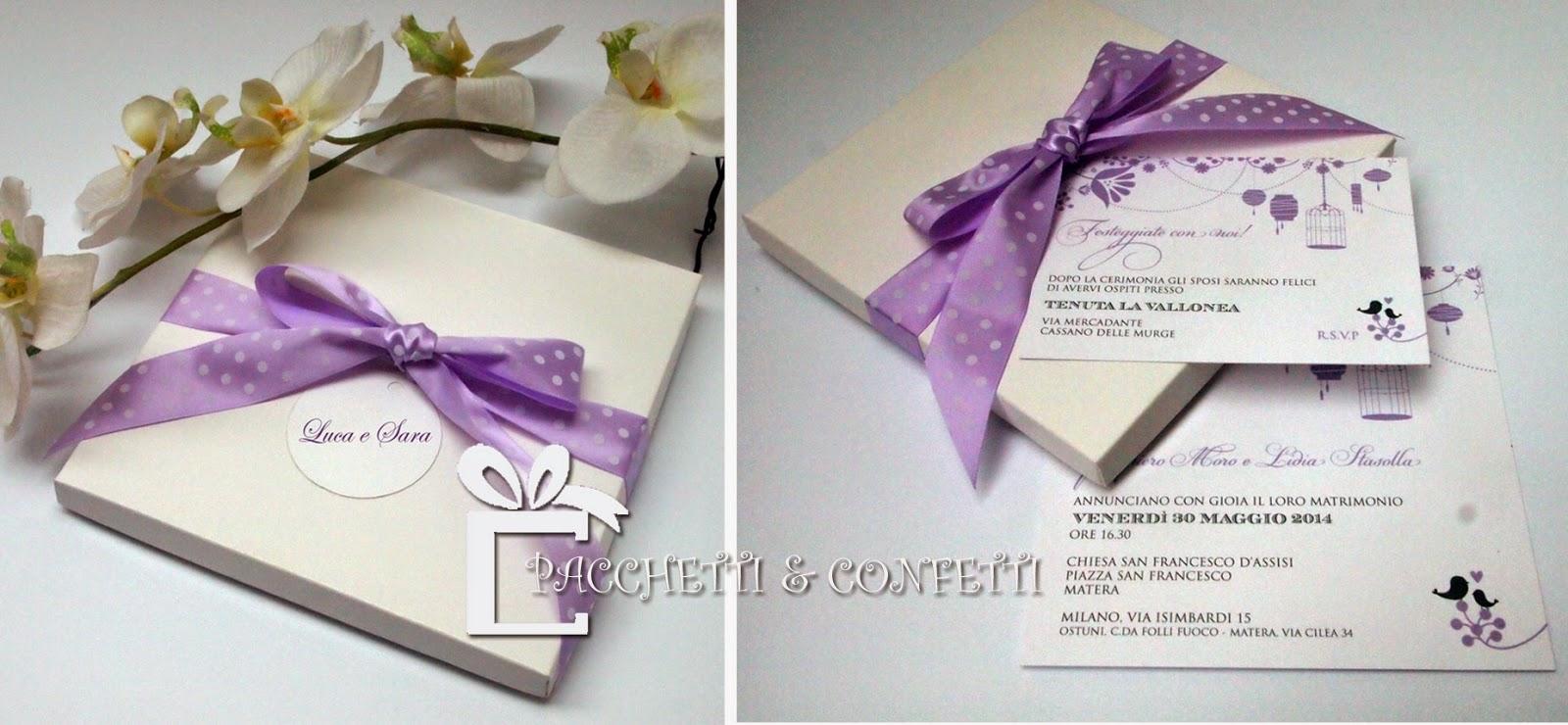 spesso Pacchetti e Confetti: Wedding Shop YB53