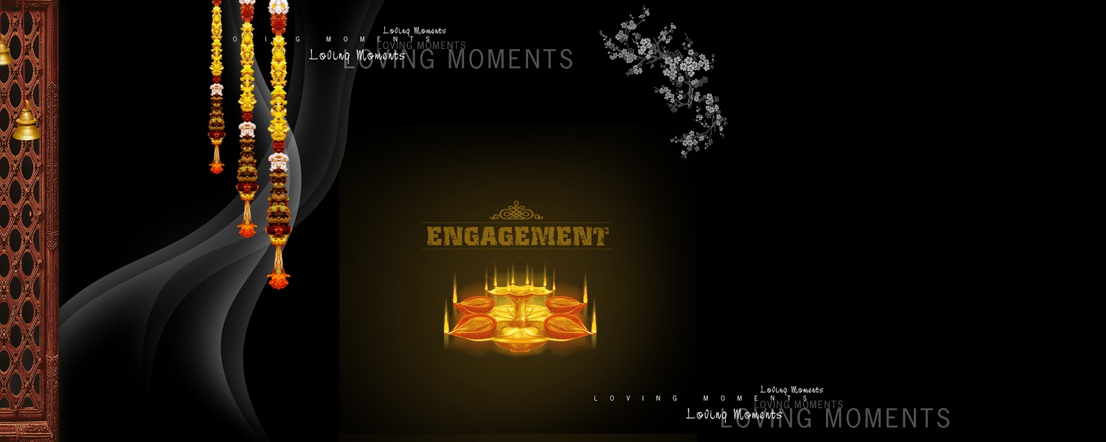 Wedding backgrounds creation for Adobe photoshop psd free downloads