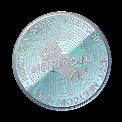 仮想通貨NEETCOINのフリー素材