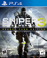 Sniper Ghost Warrior 3 Game PS4 Cover