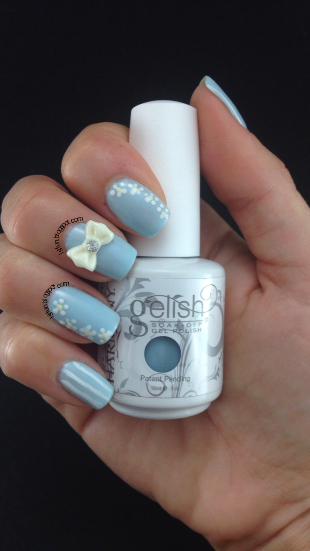 LSL's FUN BLOG: Trendy Cute 3D Bow Nail Art On Gel And ...