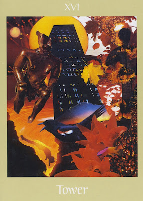 Hijacking Aquarius  Tower-card-voyager-tarot