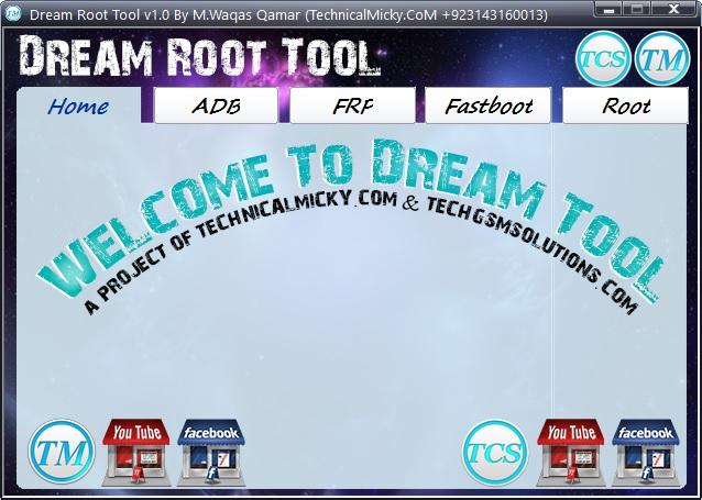 TCS Dream Root Tool ADB Fastboot Free Download