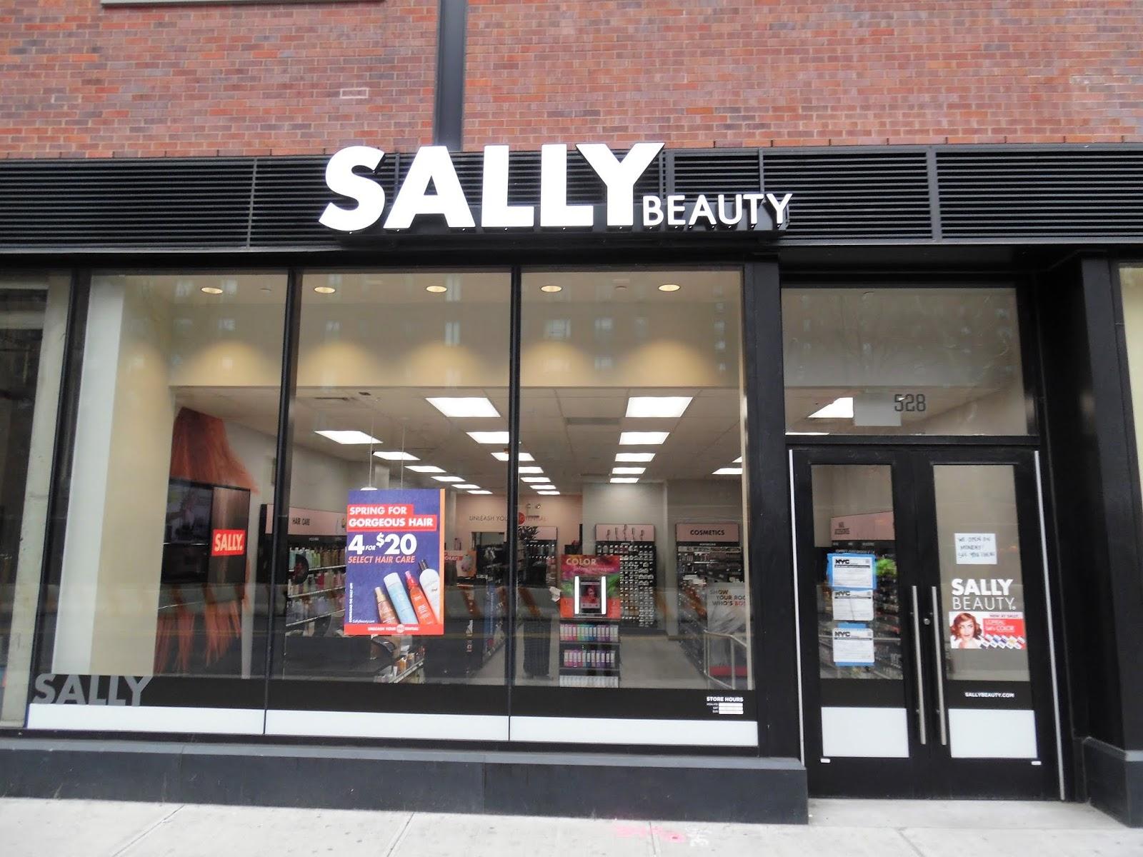 EV Grieve Sally Beauty is now open on 9th Street