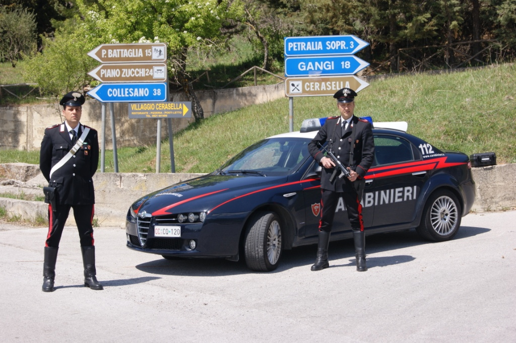 A Photo Op With The Carabinieri Don Bici Don Bici