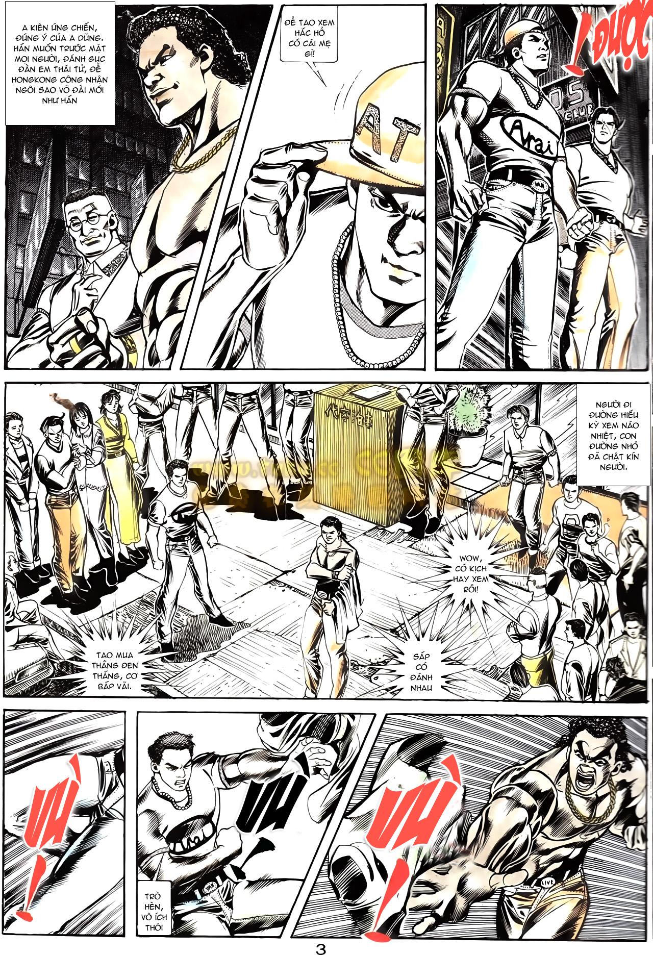 Người Trong Giang Hồ chapter 166: bùng nổ trang 22