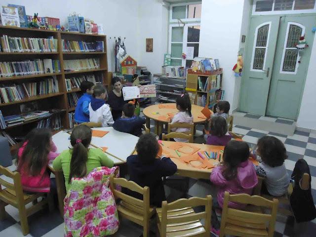 Εργαστήρι ανάγνωσης-γραφής-δημιουργίας της Δημοτικής Βιβλιοθήκης Κρανιδίου