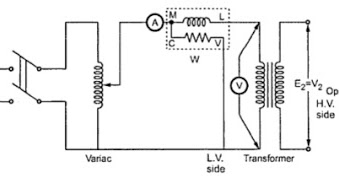 open and short circuit test on transformer electrical. Black Bedroom Furniture Sets. Home Design Ideas