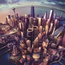 "Today Foo Fighters playing by American Road Radio their latest album ,""Sonic Highway"""