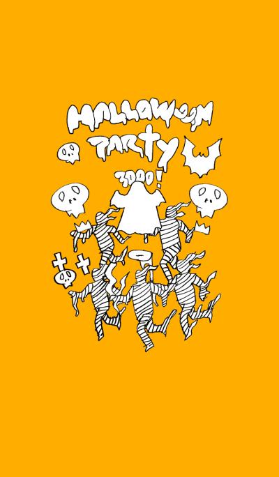 Halloween party (orange)