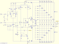 High Power Audio Amplifier Schematic