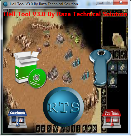 Hell Tool V3.0 with KeyGen By Raza Technical Solution