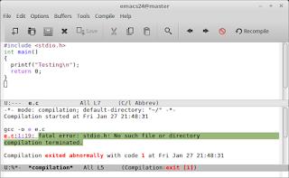 Mengatasi studio.h: No such file or directory compilation terminated di Linux Mint