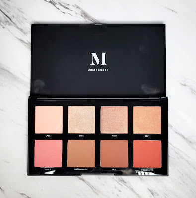Review: Morphe 8W Warm Master Blush Palette