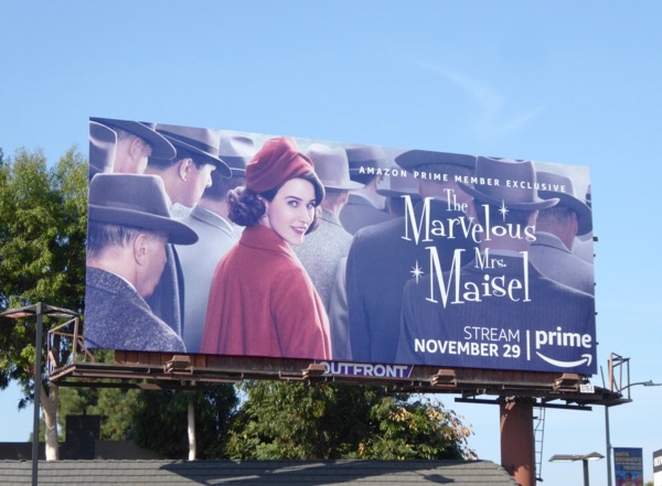 Marvelous Mrs Maisel series premiere billboard