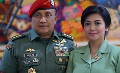 Gagah dan Idaman Para Wanita, Tentara Ini Istrinya Artis Cantik Lho!