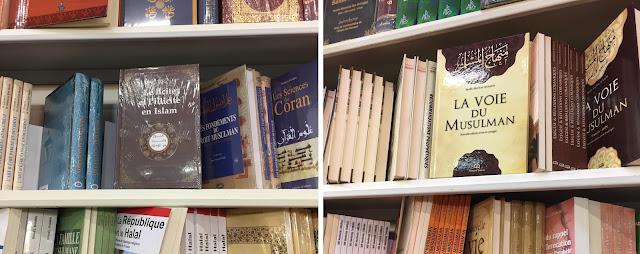 Les deux livres islamistes les plus célèbres étaient exposés et vendus au RAMF en 2018